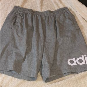 ADIDAS MEN ATHLETIC RUNNING SHORTS SIZE X large